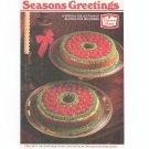 Seasons Greetings Cookbook / Pamphlet By Duncan Hines Vintage