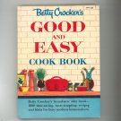 Betty Crockers Good And Easy Cook Book Cookbook Vintage First Edition