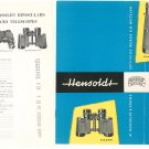 Vintage Hensoldt Wetzlar Bionocular Catalog With Price List Advertising Brochure 1959