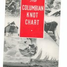 The Columbian Knot Chart Fold Out Brochure Vintage