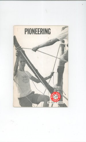 Vintage Boy Scouts Of America Pioneering Merit Badge Series Book 1967 First Edition ?