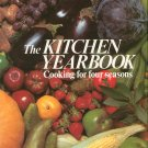 The Kitchen Yearbook Cookbook Cooking For Four Seasons Hard Cover 0890091730