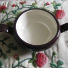 Red Wing Pottery Sugar Bowl Iris Pattern Hand Painted Very Nice