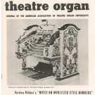 Theatre Organ Journal Summer 1960 Volume 2 Number 2 Vintage