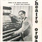 Theatre Organ Journal Winter 1962 - 1963 Volume 4 Number 4 Vintage