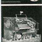 Theatre Organ Bombarde Journal April 1967 Vintage