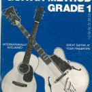 Mel Bay's Modern Guitar Method Grade 1 Music Book