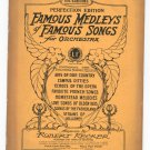 Famous Medleys Of Famous Songs For Orchestra Perfection Edition 1st Clarinet Vintage