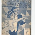 Foreign Gems Dance Folio Number 3 Piano Acc. Vintage