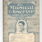 The Musical Observer Magazine Vintage February 1913 Volume VII Number 2