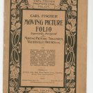 Moving Picture Folio Carl Fischer Professional 1 Violin Vintage