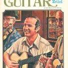 Mel Bay's Basic Finger Style Guitar Method Music Book Vintage 1974