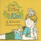 One Kitten For Kim by Adelaide Holl Hard Cover Vintage Children's Book