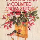 Second Steps In Counted Cross Stitch by Dinnie Thompson Booklet S 4 Vintage