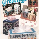 Needlecraft Plastic Canvas Greetings Craft Booklet Number 89PH3