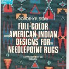Full Color American Indian Designs For Needlepoint Rugs by Dorothy Story 0486231909