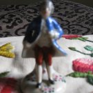 Colonial Man With Blue Coat Figurine Marked Made In Occupied Japan