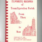 Favorite Recipes Of Transfiguration Parish Cookbook Regional 50th Anniversary New York