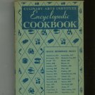 Culinary Arts Institute Encyclopedic Cookbook Vintage Ruth Berolzheimer 1950 Green Cover Thumb Index