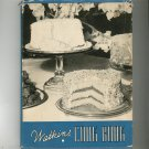 Watkins Cook Book Cookbook Vintage 1938 Hard Cover With Dust Jacket