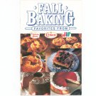 Fall Baking Favorites From Duncan Hines Crisco Jif Cookbook 1990