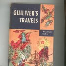 Vintage Gulliver's Travels Children's Book Windermere Readers Hard Cover 1955
