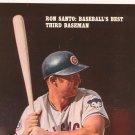 Boys Life Vintage Back Issue March 1969 Ron Santo Baseball's Best Third Baseman