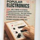 Popular Electronics Magazine Vintage Back Issue April 1968