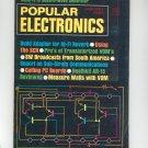 Popular Electronics Magazine Vintage Back Issue January 1968