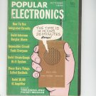 Popular Electronics Magazine Vintage Back Issue October 1966