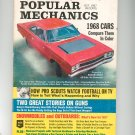 Popular Mechanics Magazine Vintage Back Issue October 1967 1968 Cars