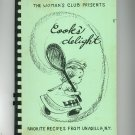 Cooks Delight Cookbook Regional Woman's Club Unadilla New York Vintage