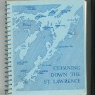 Regional Cuisining Down The St. Lawrence Cookbook Point Vivian Park New York
