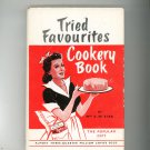 Tried Favourites Cookery Book Cookbook by Mrs. E. W. Kirk Vintage With Dust Jacket 1948