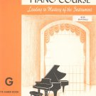 John W Schaum Piano Course G The Amber Book Vintage Belwin Mills