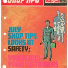 Ford Motorcraft Shop Tips Vintage July 1976 Volume 14 Number 6