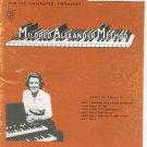 Mildred Alexander Method Book 3 Hammond Organ Vintage 1961