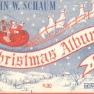 Christmas Album by John W. Schaum Vintage Belwin Inc.
