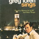 Greg Loren Sings Music Book There's A Reason For It All Plus
