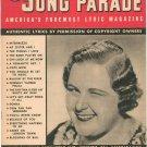 Song Parade Lyric Magazine Vintage July 1941