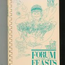 Forum Feasts Cookbook Revised Edition Regional New Jersey School Hard Cover