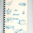 Our Favorite Recipes Cookbook Regional Salford Mennonite Church Vintage 1972