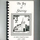 The Joy Of Sharing Cookbook Regional St. John's Church of Swiss MO 1996