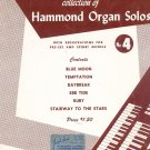 David Coleman Collection of Hammond Organ Solos Number 4