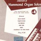 David Coleman Collection of Hammond Organ Solos Number 4
