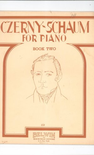 Czerny Schaum For Piano Book Two Vintage Belwin 1948
