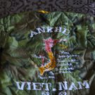 Vintage Vietnam War Childs Tour Souvenir Jacket Embroidered Never Worn Kid