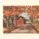 Vintage Portfolio Of American Landscapes Rural Scenes John Rogers Set Of 8 Fine Prints