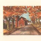 Vintage Portfolio Of American Landscapes Rural Scenes John Rogers Set Of 8 Fine Prints