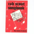 Cub Scout Songbook Boy Scouts Of America Vintage 1960